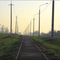 "Дорожка в ""Нью-Васюки""... - Track in ""New-Vasyuki""..., Калинино"