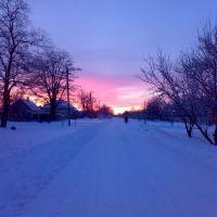 Зимний вечер, Калининская