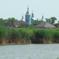 Вид на Богоявленский храм, Калининская