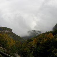 Горы в облаках (Mountains in clouds), Каменномостский