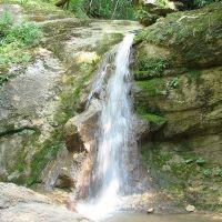 Водопад на ручье Мешоко (Waterfall on the river Mishoko), Каменномостский