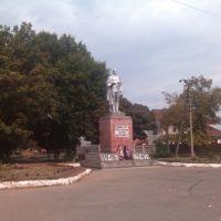 Памятник Воинам колхозникам, Красноармейская