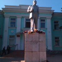 Памятник В.И. Ленину, Красноармейская