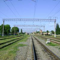 Пути на Усть-Лабинской, Красноармейская