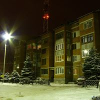 Зимний Краснодар, тихий дворик..., Краснодар
