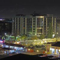 """Краснодар - вид на торговый комплекс """"Центр города"""" и ул. Коммунаров ночью, Краснодар"""