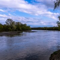 Kuban river, Кропоткин
