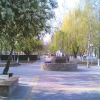 Сквер на Ворошилова. http://kropotkin23.ru/, Кропоткин