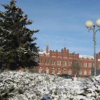 январь2009_вокзал, Кропоткин