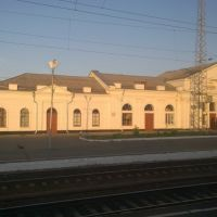 Kushevka Railroad Station. Krasnodar Krai, Кущевская
