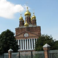 Храм в Кущёвской, Кущевская