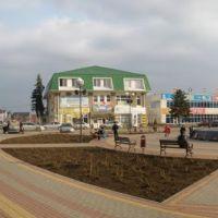Кущёвская - центр 30 марта 2011 г., Кущевская