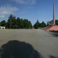"""площадь Победы-""""Вечный огонь"""", Лабинск"""
