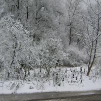Вид из окна (Зима), Лабинск