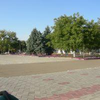 вид на площадь от администрации(hol), Лабинск