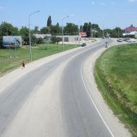 Вид с моста, Лабинск