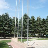 Памятная стела, Лениградская