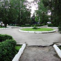 сквер у фирмы, Мостовской