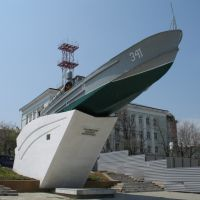 Monument to Black sea man-of-wars men, Новороссийск