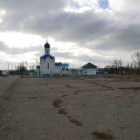 Церковь на станичном кладбище, Павловская