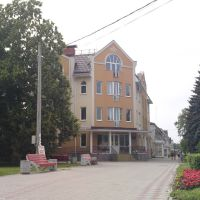 Здание пенсионного фонда, Павловская