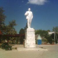 Памятник вождю на берегу Азовского моря, Приморско-Ахтарск