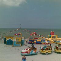 Пляж в Ахтарях, Приморско-Ахтарск