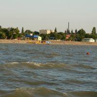 Берег в районе улицы Ленина, Приморско-Ахтарск