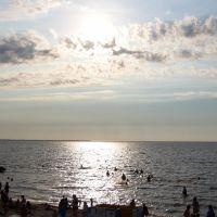 вечерний пляж, Приморско-Ахтарск