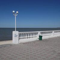 Набережная Приморско-Ахтарска / The quay street, Приморско-Ахтарск