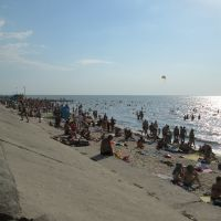 "На ""корабле"" летом, Приморско-Ахтарск"