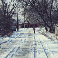 по дороге в школу, Северская