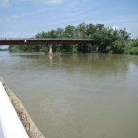 Мост через реку Протока., Славянск-на-Кубани