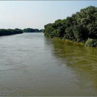 Протока. Вид с моста, Славянск-на-Кубани