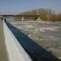 Протока зимой, Славянск-на-Кубани
