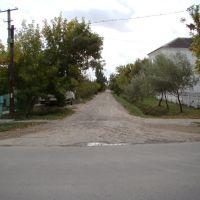 Улица Гриня. Вид с ул. Кубанская в сторону ул. Минская, Славянск-на-Кубани