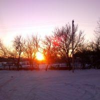 Закат, угол Красной-Ленина, Староминская