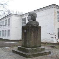 СШ№1, памятник Ляпидевскому, Старощербиновская