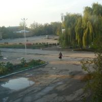 из окна детской библиотеки, Старощербиновская