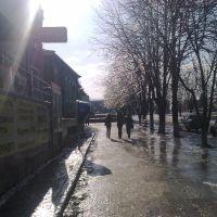 Улица Первомайская зимой 2010г., Тбилисская