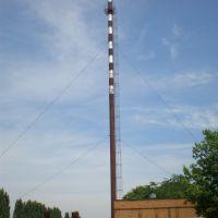 Труба с символом зверосовхоза, Тбилисская