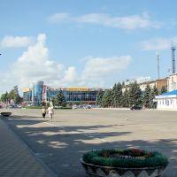 Центральная площадь Тимашевска, Тимашевск