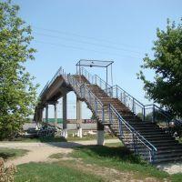 Переходной мост. - Transition bridge., Тимашевск
