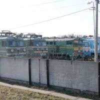 ВЛ60, 2ТЭ10У, ЭП1М (Запас), Тимашевск