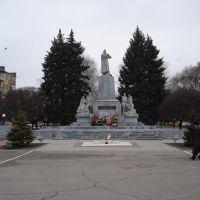 Памятник героям гражданской и Великой Отечественной войн, Тихорецк