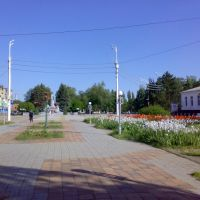 Площадь Жукова. Тихорецк., Тихорецк