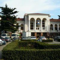 Железнодорожный вокзал, Туапсе