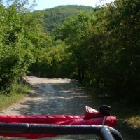 The path to the waterfalls Tenghinka / Путь на Тенгинские водопады, Тульский