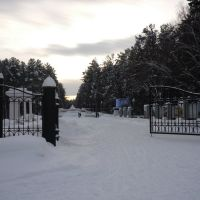 Железногорск, вход в городской парк, Железногорск