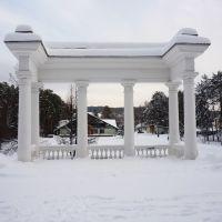 Железногорск, ротонда в парке, Железногорск